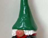 Tomte ornaments with Green Hats