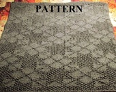 Knitting Pattern: Chunky Knit Reversible Baby Blanket Pattern *INSTANT DOWNLOAD*