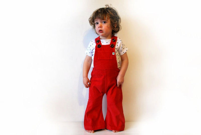 Gameday Overalls for Kids. There's no better or cuter way to pass your fandom for your alma mater or favorite team onto your kids than with children's gameday overalls.