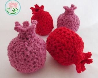 Amigurumi Pomegranate