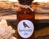 LAVENDER OIL - Essential Oil Blend - .5 (1/2 oz) Amber glass bottle.