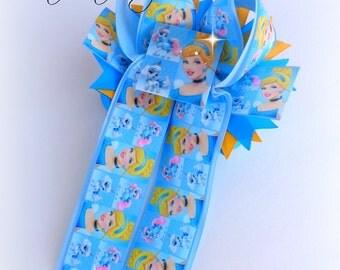 Cinderella Pony Bow ready to ship
