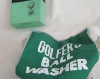 Vintage Golfer's Ball Washer Gag Gift