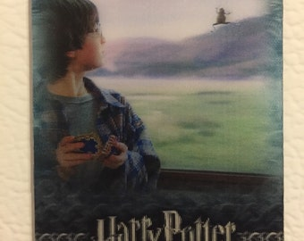 harry potter fridge magnet - harry and the chocolate frog