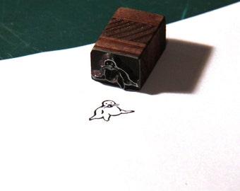 Stempel Siegel kleine feine Robbe