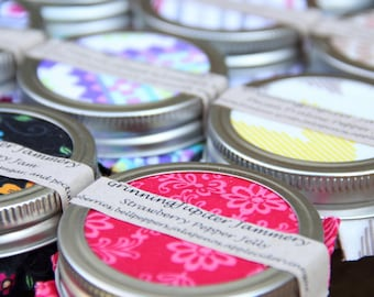 Wedding/Party Favors that are Yummy 15 ct. 4oz jars