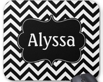 Personalized Monogram Mousepad Mouse Pad  CREATE YOUR OWN!