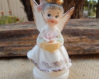 National Potteries June Angel  ~  National Potteries Co. Cleveland Ohio June Angel  ~  National Potteries Co Napcoware #C4307 June Angel