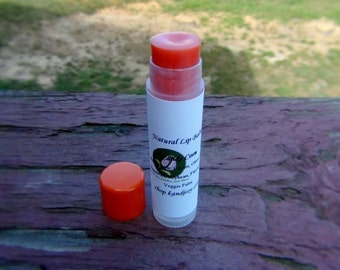 New and Improved Natural Tinted Lipbalm/Chapstick. Size .15oz. Assorted Flavor To Choose. Made To Order