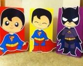 Cute Baby Superheros Goody Bags