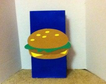 Cute Hamburger Goody Bag