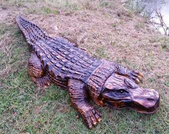 Chainsaw Carving Chainsaw Carved Alligator