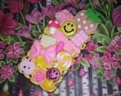 SALE! iPhone 5/5s Happy Hippie Cute Kawaii Decoden Phone Case