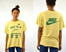 Rare Seattle Super Sonics Dale Ellis Nike Sponsored Basketball Camp T Shirt