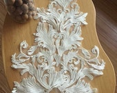 victoria style venice lace applique in ivory for bridals, wedding, gowns, bridal accessories