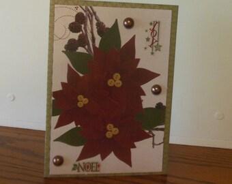 Christmas Card / Handmade Card / Greeting Card / Christmas Noel /