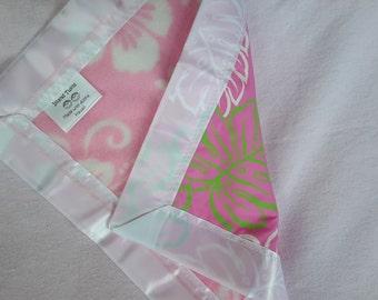 Hawaiian Baby Lovey Blanket