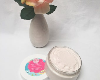 Strawberry Cheesecake Moisturizing Body Butter, Body Butter, Whipped Shea Butter, Coconut Oil, Cream, Lotion, Strawberry