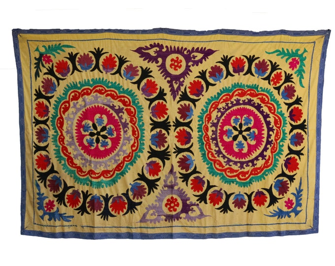 Handmade Vintage Suzani NL3022
