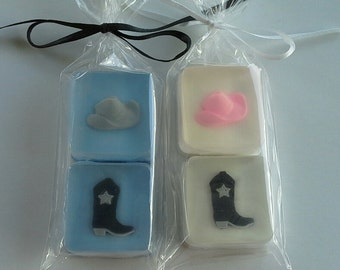 Cowboy and Cowgirl Favors