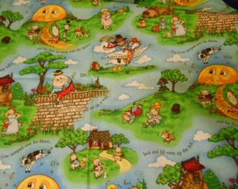 Vintage, Nursery story, fabric