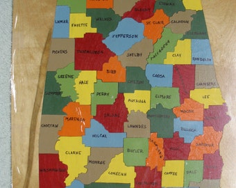 alabama state puzzle