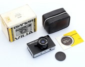 Vintage lomo CAMERA Vilia, Soviet Camera, Working camera,Old Russian Camera, 35mm Film Camera