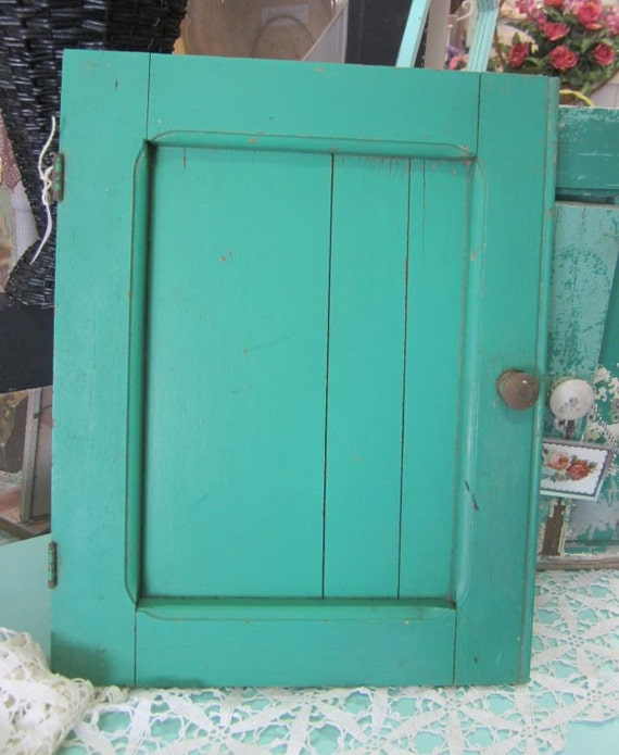 Salvage Kitchen Cabinets: Salvage Painted Cabinet Door Vintage Architectural Salvage