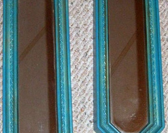 Vintage, Syroco Mirror, Wall Mirror, Home Interiors, Accent Mirrors, Turquoise, Wall Decor