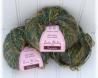 Destash Yarn - Louisa Harding Impressions Nylon/Mohair, Three Skeins
