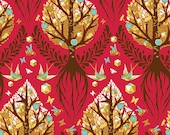 Rare Fabric Tula Pink The Birds & The Bees Tree of Life One Yard Of Fabric READY TO SHIP!!!