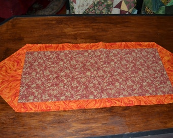 Holiday Table Runner Thanksgiving Dinner Place Mat Table Topper Autumn Fall Tablecloth