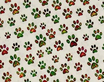 Quilting Treasures - Dan Morris - A Tail of Two Kitties - Pawprints