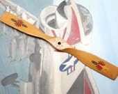 Vintage Model Airplane Wooden 10 Inch RITE PITCH Super Stunt 10-25 Propeller, Made in USA