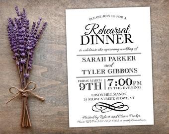 Printable Wedding Invitation Templates DIY | Circle of Flora | Invitation Set | Editable in Word | MAC or PC | Editable Artwork Colors
