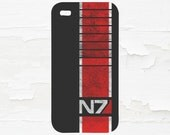 N7 Mass Effect Gamer Inspired Cell Phone Case - iPhone Case - iPod Touch 5 Case - Samsung Galaxy Case