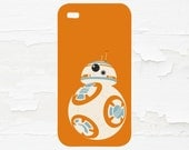 BB8 Cell Phone Case - iPhone Case - iPod Touch 5 Case - Samsung Galaxy Case