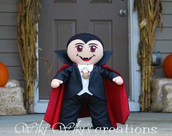 Plush Dracula Doll