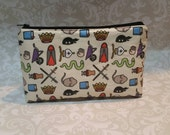 As You Wish Princess Bride inspired large cosmetic bag