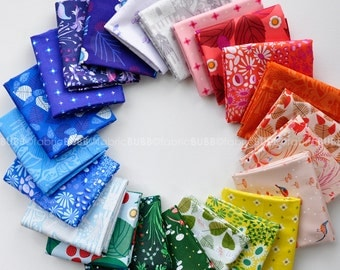 The Lovely Hunt, Fat Quarter Bundle by Lizzy House for Andover Fabrics, COMPLETE