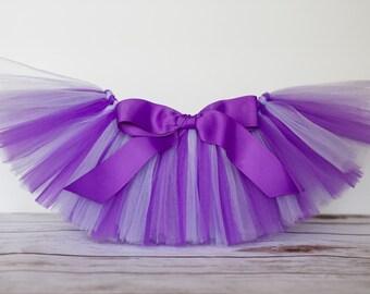Purple & Light Purple, lilac, lavender 'Sarah' Tutu kids tutu, size 2, 3, 4, photo prop birthday tutu 2T 3T 4T toddler tutu dress up skirt