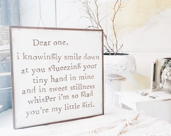 Dear One - Customizable with a name/gender
