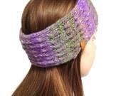 Ear Warmer, Boho Knitted Headband, Hand Knit Boho Ear Warmer, Hipster Headband, Hand Knit Boho Headband, Men Women Headband-Earwarmer