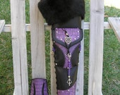 "Reserved for Donna~ ""Side"" Quiver with Belt and Pouch- ""Artemis"" Made to Order- by MYSTIC QUIVERS"