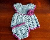 crochet baby girl dress  Free Domestic Shipping