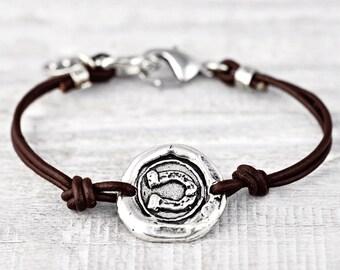 Blaze Your Trail Bracelet - Wax Seal Jewelry - Inspirational Jewelry- B484