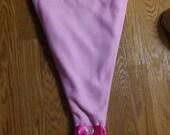 Purple & Teal Mermaid Tail Blanket Hand Off