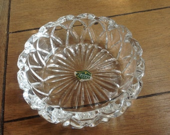 Shannon Crystal Ashtray Designs Ireland Lead Crystal Made in Slovakia