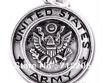 United States Army Patriotic Charms Set of (9)