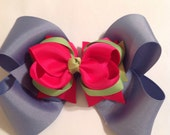 Hair Bows/Large Hairbows/Teen Bows/Stacked HairBows